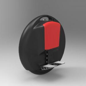 Selbst Balancing Turbo Solo Elektro Ein Rad (Schwarz (Black))