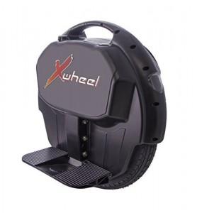 Original XWheel X1 in schwarz - selbstbalancierendes elektrisches Einrad inkl. Licht, Power Akku und vielem mehr...4