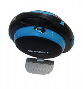 elektrisches Einrad, Elektro Einrad, Unicycle, E - Wheel in schwarz/blau mit eingebautem Lautsprecher