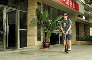 Ecommercia Wasserdicht Elektro Scooter Einrad Segway Balance Scooter Roller kein Vergleich zum Solowheel 25km Reichweite- umweltfreundlich, sportlich, trendig Weiß4