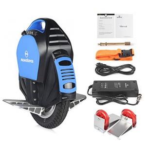 MonoRover R1 elektrisches selbstausgleiches Einrad Stehroller Elektroroller, Self Balancing Unicycle, EU (Schwarz-Blau)5