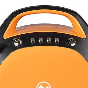 MonoRover R1 elektrisches selbstausgleiches Einrad Stehroller Elektroroller, Self Balancing Unicycle, EU (Schwarz-Orange)1