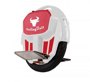 RollingBull Elektro-Einrad E-wheel X7white bis 30KM Reichweite + LED-Lichter1