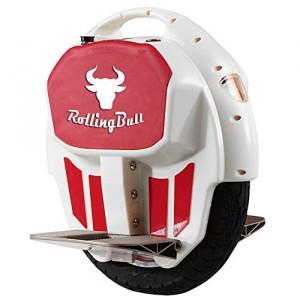RollingBull Elektro-Einrad E-wheel X7white bis 30KM Reichweite + LED-Lichter4