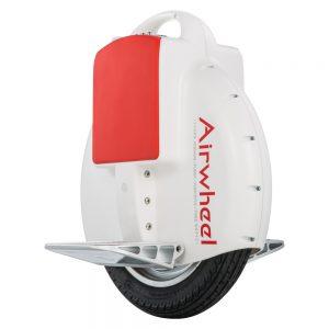 Airwheel X3 Weiß/Rot - Einrad [Elektro-Einrad, 17 km Reichweite, bis zu 18 km/h Schnell]
