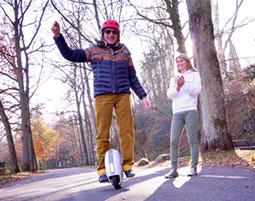 Wheelride Elektro-Einrad Schnupperkurs