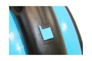 elektrisches Einrad, Elektro Einrad, Unicycle, E - Wheel in schwarz/blau mit eingebautem Lautsprecher1