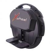 Original XWheel X1 in schwarz - selbstbalancierendes elektrisches Einrad inkl. Licht, Power Akku und vielem mehr...