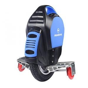 MonoRover R1 elektrisches selbstausgleiches Einrad Stehroller Elektroroller, Self Balancing Unicycle, EU (Schwarz-Blau)1