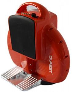 elektrisches Einrad, Elektro Einrad, Unicycle, E - Wheel in orange