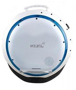 HEEL-TG Selbst Balancing Scooter Elektro-Einrad-Roller mit LED-Licht und Bluetooth Lautsprecher 264WH (Weiß)1