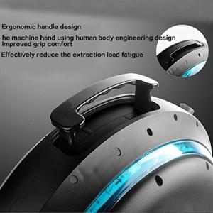 HEEL-TG Selbst Balancing Scooter Elektro-Einrad-Roller mit LED-Licht und Bluetooth Lautsprecher 264WH (Weiß)5