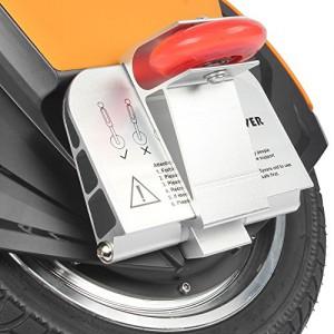 MonoRover R1 elektrisches selbstausgleiches Einrad Stehroller Elektroroller, Self Balancing Unicycle, EU (Schwarz-Orange)3