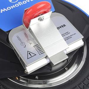 MonoRover R1 elektrisches selbstausgleiches Einrad Stehroller Elektroroller, Self Balancing Unicycle, EU (Schwarz-Blau)4