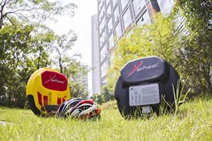 Original XWheel X1 in schwarz - selbstbalancierendes elektrisches Einrad inkl. Licht, Power Akku und vielem mehr...1
